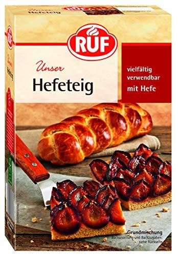 RUF Lebensmittelwerk Hefeteig, 8er Pack (8 x 400 g)