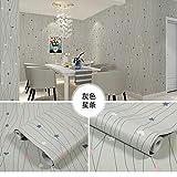 LZYMLA - Papel pintado autoadhesivo de PVC, para dormitorio, sala de estar, habitación de los niños, decoración de gabinete, adhesivo impermeable para pared con diseño de estrellas, 60 cm x 5 m