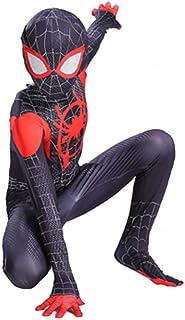 TOYSSKYR 3D printing ultimate spiderman cosplay costume elastic