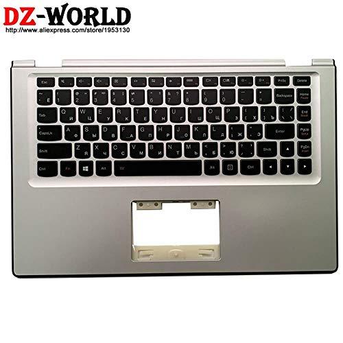 Caja Superior de Plata Original de Palmrest con Teclado Ruso retroiluminado Ruso para Lenovo Yoga 2 13 Laptop C Cubierta 90205137