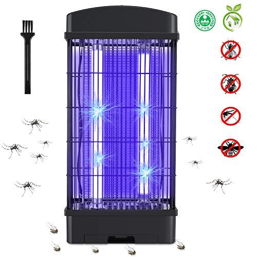 Deckey Insektenvernichter Elektrischer Insektenvernichter mit Reinigungsbürste Mückenlampe UV Insektenlampe Mückenvernichtungslampe Fliegenfalle Insektenfalle.