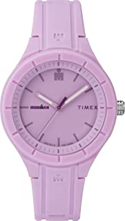 Timex Womens Quartz Watch, Analog Display and Silicone Strap - TW5M17300