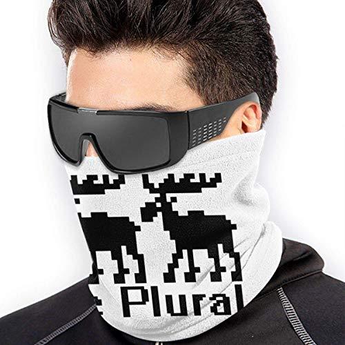 NA Moose Plural Unisex Multifunktions-Halswärmer Schal für Outdoor Arbeit Sport Ski-Wear Maske Snowboard Fahrrad Motorrad Gesicht
