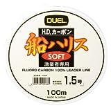 DUEL Fluorocarbono Soft HD 6.0 D 0,405 mm Bobina de 100 m Carga 11 kg