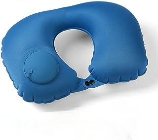 Oreillers de voyage portables, oreiller de cou gonflable ensemble oreiller gonflable ultra-léger en forme de U pour access...