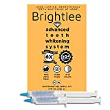 Brightlee Teeth Whitening Kit Refill - Two (2) Extra Large Syringes - 10mL 35% Carbamide Peroxide Faster Than Teeth Whitening Strips, Refill Gel for All Teeth Whitening Kits