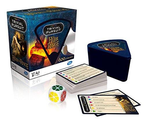 Herr der Ringe - Trivial Pursuit - Kartenspiel - Deutsch | Gesellschaftsspiel | Brettspiel