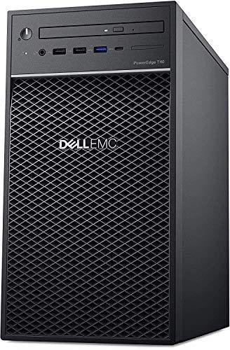 Dell PowerEdge T40 Tower Server (T30 Newer Version), Intel Quad-Core Xeon E-2224G 3.5GHz, 16GB DDR4 UDIMM RAM, 2TB 7200RPM HDD, DisplayPort, DVDRW, No OS, Black, Free TLG 32GB USB3.0 Flash Drive