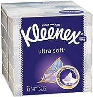 Kleenex Expressions Facial Tissues, 75 Tissues per Cube Box