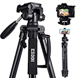 ESDDI Updated Camera Tripod 67''/170cm Lightweight...