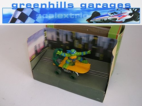 Greenhills Scalextric TMNT Ninja Turtles Skateboard Leonardo C130 - Boxed - 20309 ##x