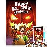 Puzzle 1000 Piezas Happy Halloween Scooby Doo! Póster de película Ghost Paper Puzzle 26x38cm Juego Familiar Juego de Rompecabezas desafiante