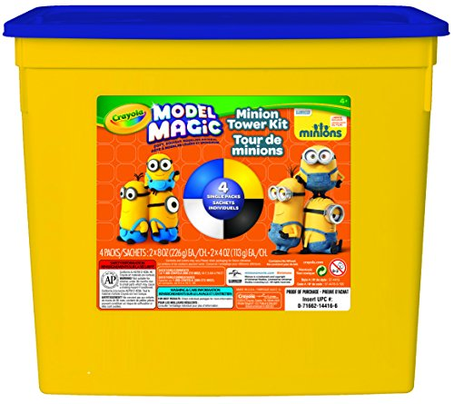Crayola 1.5 lb. Minion Tower Build Model Magic Tub by Crayola