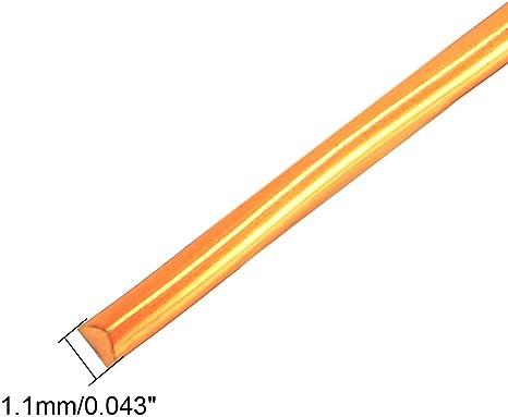 1.4 mm Dia Aimant fil émaillé Fil de Cuivre Enroulement Bobine Longueur 66/'