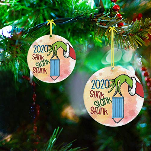 Dobor The Grinch Christmas Decorations,Grinch Ornaments,Grinch Christmas Tree Decorations,Grinch Decorations,The Grinch Christmas Decorations,Grinch Tree Decorations,2020 Christmas Ornament