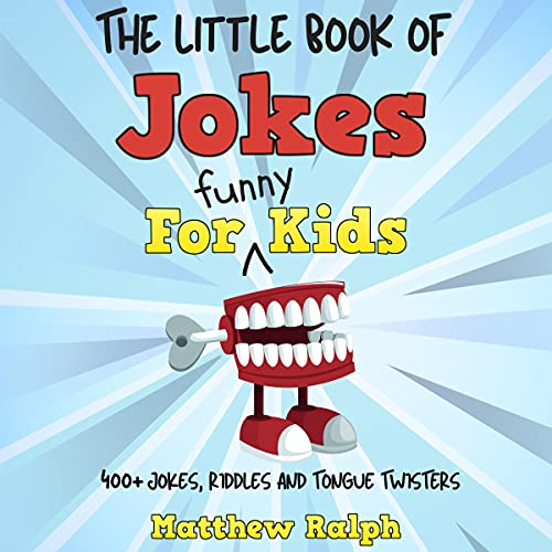 The Little Book of Jokes for Funny Kids cover art