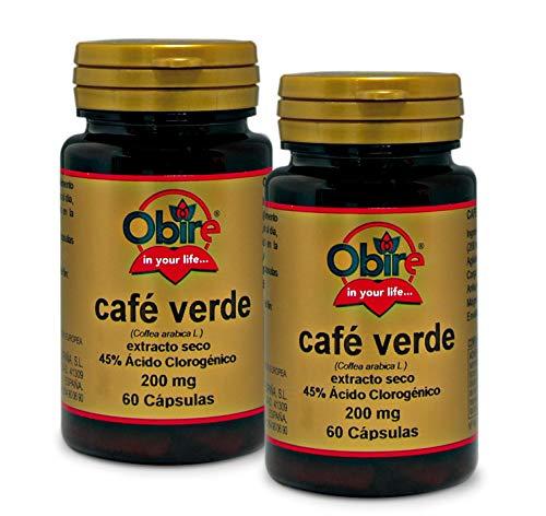Obire   Café Verde 200 mg   (Extracto Seco 45%