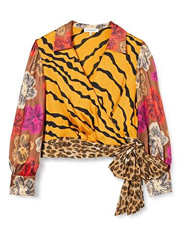 Silvian Heach Blouse Abetone Blusa, Multicolore (Fant.Uniq Fant.Uniq), Large (Taglia Produttore:L) Donna