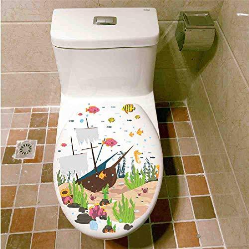 LKNS Muursticker Onderwater Vis Muurstickers Decals Zee Vis Carton Badkamer Raam Kwekerij Home Decor Poster