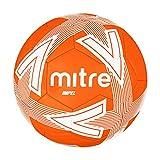 Mitre Impel Training - Balón de fútbol sin Bola, Color Naranja/Blanco, Talla 4