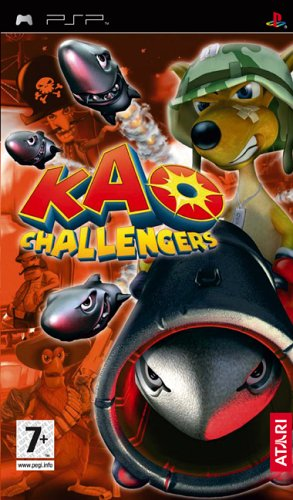Kao Challengers (Sony PSP) [importación inglesa]