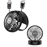 HandFan Battery Operated Hands-Free Necklace Fan Portable Fans Rechargeable Handheld Personal Neck Fan with...