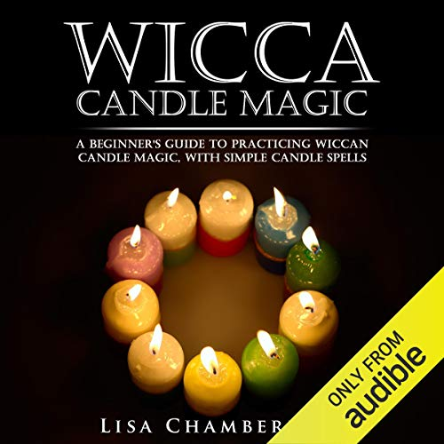 Wicca Candle Magic audiobook cover art