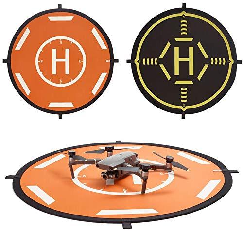 Linghuang 80CM Drone Landing Pad Portátil Pista de Aterrizaje Impermeable para dji...