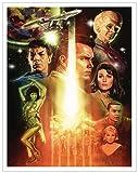 Culturenik Star Trek Inception The Cage Episode (Paul Shipper) Sci-Fi TV Television Show Print (Unframed 11x14 Poster)