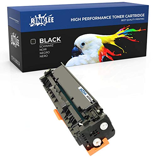 RINKLEE 305X CE410X Cartucho de Toner Compatible para HP Laserjet Pro 300 M351 M351a M375 M375nw Pro 400 M451 M451dn M451dw M451nw MFP M475 M475dn M475dw   Alta Capacidad 4000 Páginas   Negro