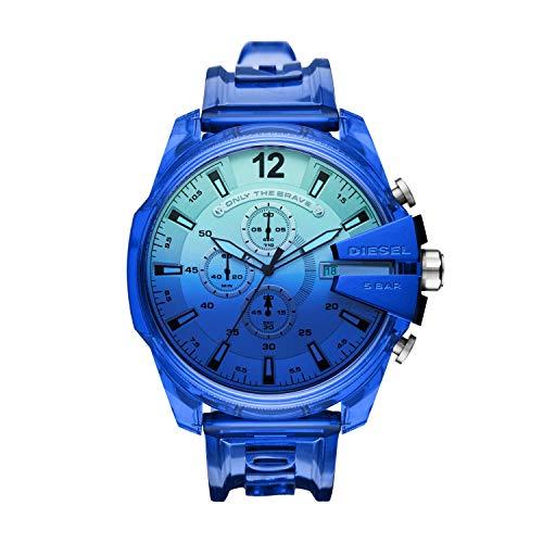 Diesel Reloj Analógico para de los Hombres de Cuarzo con Correa en plástico DZ4531