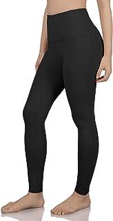 ODODOS Women`s High Waisted Tummy Control Yoga Pants, Full-Length Leggings with Inner Pockets