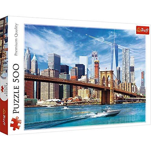 Brandsseller Puzzle - Blick auf New York 500 Teile