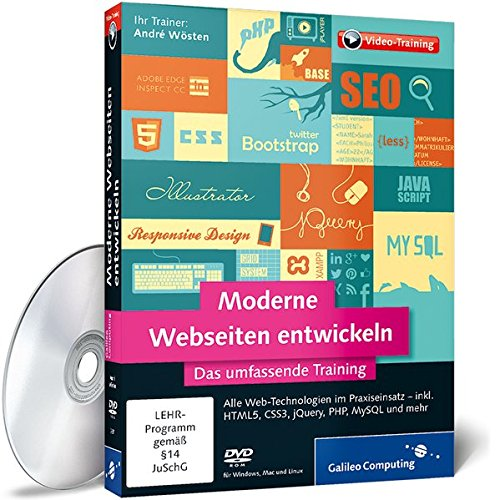 Galileo Press -  Moderne Webseiten