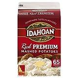 Idahoan Real Premium Mashed Potatoes, Made with Gluten-Free 100-Percent Real Idaho Potatoes, 3.25lb...