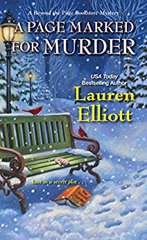 A Page Marked for Murder (A Beyond the Page Bookstore Mystery Book 5) by [Lauren Elliott]