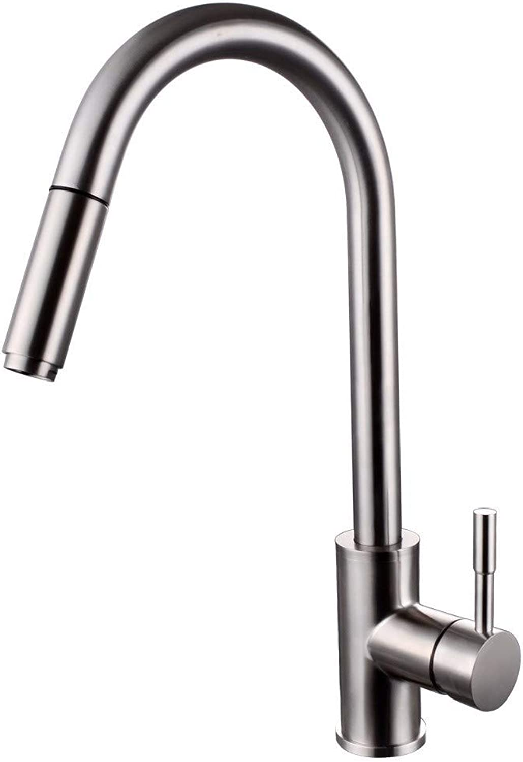 FT-13 Hot and Cold Faucet Retro Faucet Kitchen Bathroom Faucet Stainless Steel Kitchen Faucet Pull-Out Basin Faucet