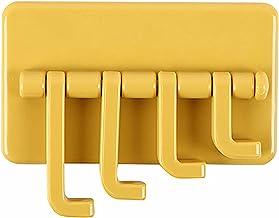 De Dragon Good Adhesive Haken Roterende Wandhangers voor het ophangen van Handdoek Hoed Sleuteltas (Oranje)