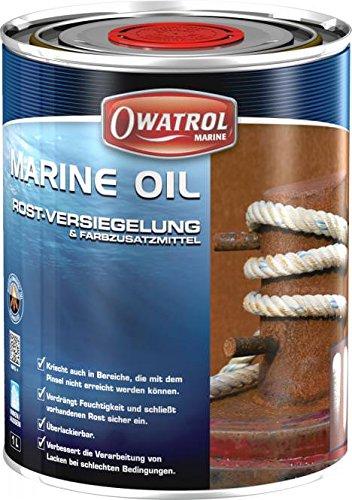 Owatrol Marine Oil Rostentferner Rostversiegelung 1 Liter