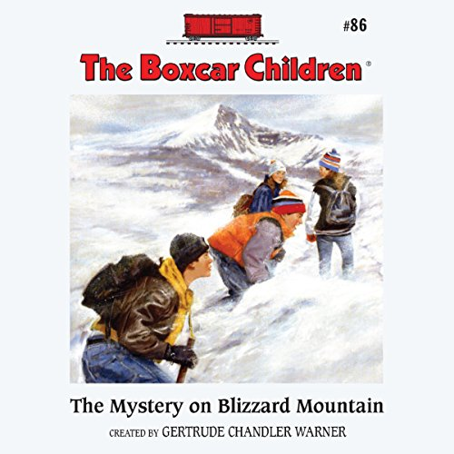The Mystery on Blizzard Mountain audiobook cover art