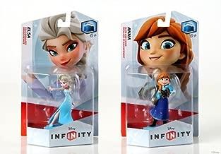 DISNEY INFINITY Elsa and Anna Figures Bundle