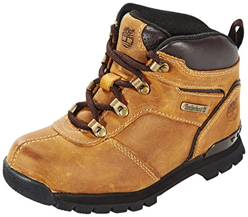 Timberland Splitrock 2 (Youth), Bottes Chukka Mixte-Enfant, Jaune Wheat Nubuck, 32 EU