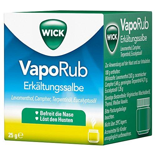 Wick Pharma / Procter & Gamble Vaporub Erkältungssalbe, 25g
