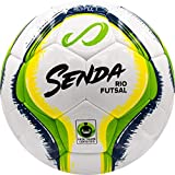 Senda Rio Club Futsal Palla da Calcio, Fair Trade Certified, Green/Yellow