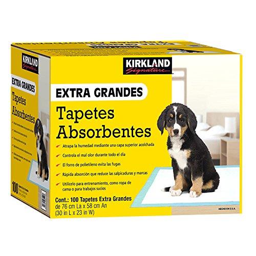 tapetes absorbentes para perros fabricante Kirkland