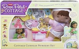 Playskool Rose Petal Cottage Cuddle Nursery Set - African American