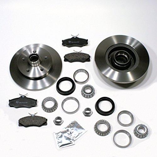 Bremsscheiben/Bremsen + Bremsbeläge + 2 x Radlager vorne