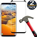[2 Pack] Samsung Galaxy S8 Plus Screen Protector Tempered Glass Film [Case...