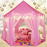 Monobeach Kids Play Tent Girls Toys Princess Castle Play Tent Kids Playhouse