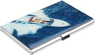 Cas d'organisateur de carte de crédit d'affaires Blue Ocean